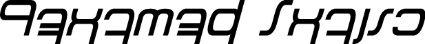 Betazed Italic