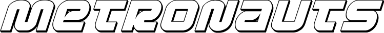 Metronauts 3D Italic