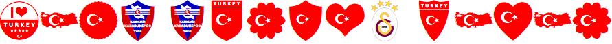 font turkey color