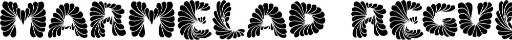 Preview image for Marmelad Regular Font