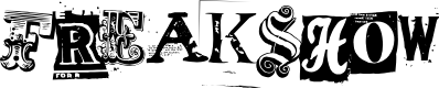 Preview image for Freakshow Font