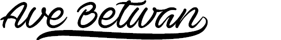 Preview image for Ave Betwan PERSONAL USE ONLY Font