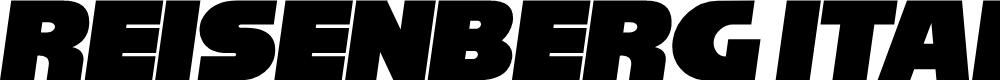 Preview image for Reisenberg Italic