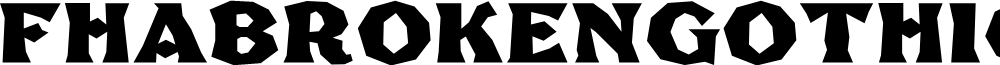 FHABrokenGothicPosterNC