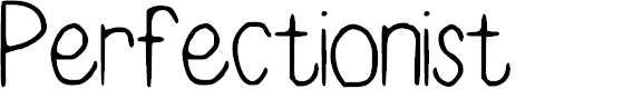 Preview image for Perfectionist Font