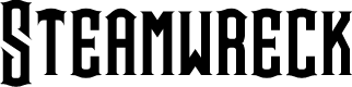 Preview image for Steamwreck Font