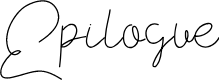 Preview image for Epilogue  Font