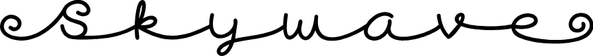 Preview image for Skywave Free Font