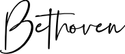 Preview image for Bethoven Font