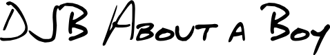Preview image for DJB About a Boy Font