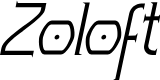 Preview image for Zoloft Italic