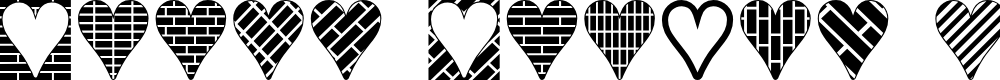 Preview image for Heart Things 3 Font