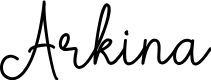 Preview image for Arkina Font