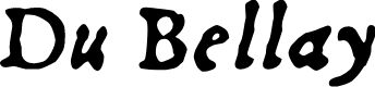 Preview image for Du Bellay Italic