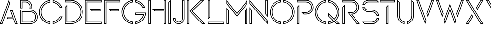 Maxellight Condensed-Outline
