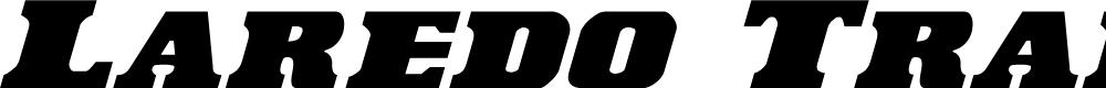 Preview image for Laredo Trail Italic Italic
