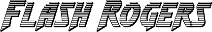 Flash Rogers Chrome Italic