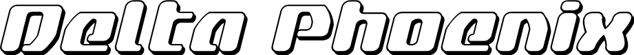 Preview image for Delta Phoenix 3D Italic