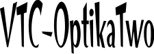 Preview image for VTC-OptikaTwo Font