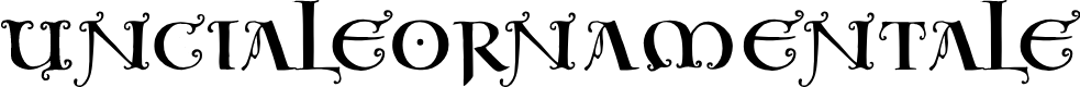 Preview image for UncialeOrnamentale Font