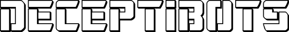 Deceptibots 3D