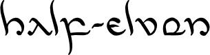 Preview image for Half-Elven Leftalic Italic