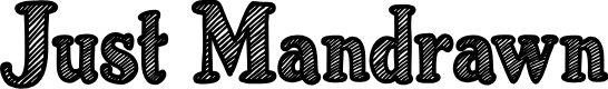Preview image for Just Mandrawn Font