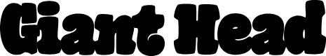 Preview image for GiantHeadOT Font