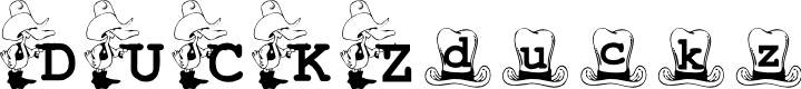 Preview image for KG_DUCKZ Font