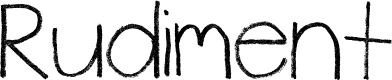 Preview image for Rudiment Font