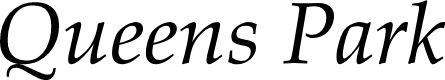 Preview image for Queens Park Italic
