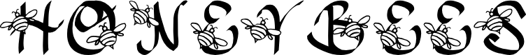 Preview image for JI Honeybees Font