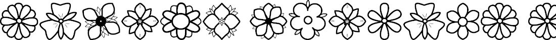Preview image for Second Flowers St Font