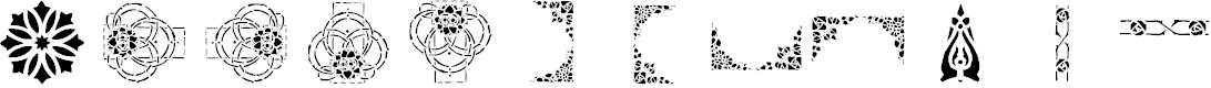 Preview image for lpstencil1 Font