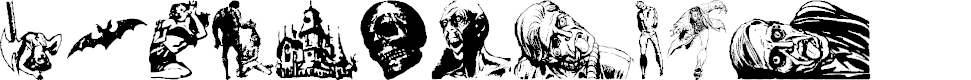 Preview image for Horror Dingbats Eerie Edition