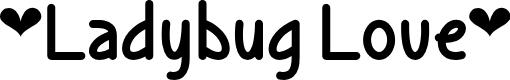 Preview image for Ladybug Love Regular