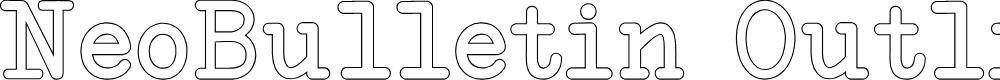 Preview image for NeoBulletin Outline