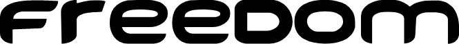 FREEDOM font