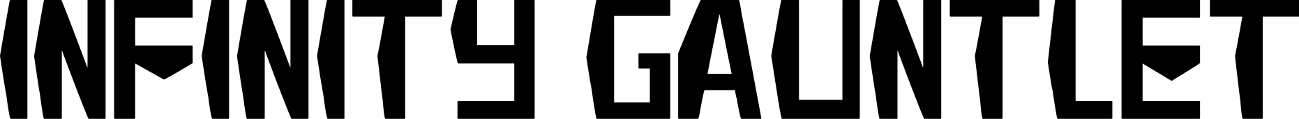 Infinity War Fonts Fontspace