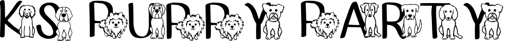 Preview image for Ks Puppy Party Regular Font