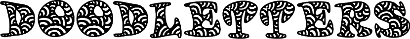 Preview image for Doodletters Font