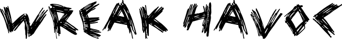 Preview image for Wreak Havoc Font