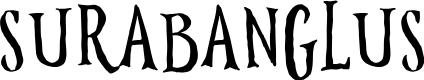 Preview image for Surabanglus Normal Font