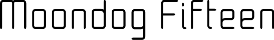 Preview image for Moondog Fifteen Font
