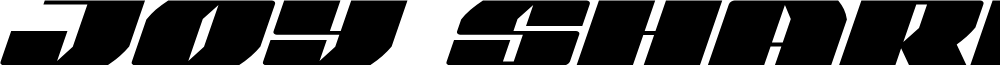 Joy Shark Italic