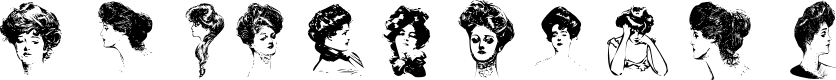 Preview image for Gibson Girls Font