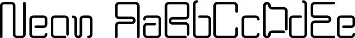 Preview image for BPneon Font