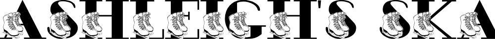 Preview image for JLR Ashleigh's Skates Font