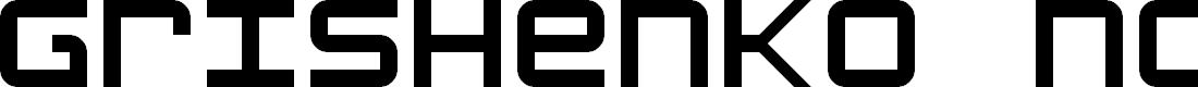 Preview image for Grishenko Novoye NBP Regular Font