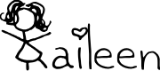 Preview image for Kaileen Font